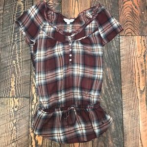 Abercrombie Sheer Blouse Size S